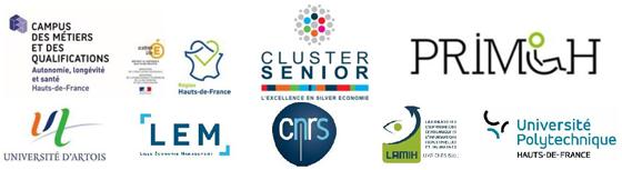 Campus des métiers et qualifications   Hauts-de-France   Cluster senior   PRIMOH   Université d'Artois   LEM   CNRS   LAMIH   Université Polytechnique Hauts-de-France