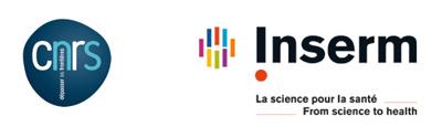 Logos du CNRS et de l'INSERM