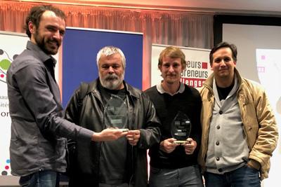Deux ingénieurs de recherche du LAMIH reçoivent 3 prix pour leur projet de start-up